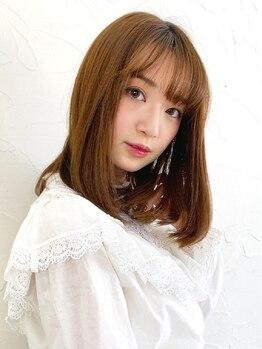 レイグロー バイ ヘッドライト 水戸店(RAYGLOW by HEADLIGHT)の写真/【カット+トリートメント¥8100】可愛いStyleはヘアケアが重要!TOKIOトリートメントでうるツヤ髪に♪