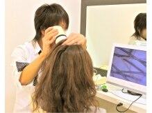 ヘアメイク ビュー(Hair Make View)の雰囲気(本質的ケアは確認して実感できる☆更に見えない細部までケア。)