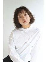 ヘアーアンドレイ エビス(hair.andrey EBISU)【andrey Ebisu】ショートバングカールボブ[junya]