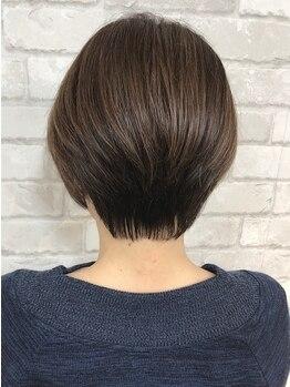 ヘアーアンドメイクビィフォー(hair&make b four)の写真/【カットの上手さが一番わかる】ショートstyleが人気!高技術なカットで大人女性のリピートが多いb-four★