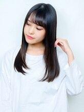 ネオリーブアオバ 高田馬場店(Neolive aoba)王道の黒髪ロングスタイル♪ 髪質改善でツヤ感up♪