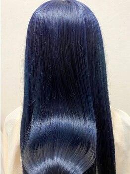 リエートビタ 栗生(Lieto vita)の写真/髪質、お悩みに合わせてカスタマイズ♪自分にピッタリのトリートメントだから、潤いたっぷりのツヤ髪にー…