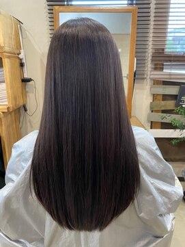 アリシアヘアー(ARISHIA hair)髪質改善 さら艶 艶髪 ストレート 【アリシアヘアー 那珂】