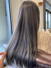 エニー(Any Hair Life)ブリーチオンカラーで外国人風透明感カラー♪