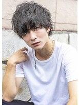 ヘアー ピープル(Hair People)黒髪×束感マッシュ