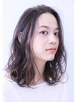 ココ ヘアーアンドライフスタイル(COCO hair&lifestyle)【COCO山口】地毛風カラー×ラフセミロング