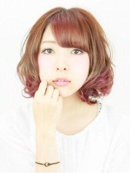 リコ ヘア デザイン 氏家店(RICO hair design)の写真/【さくら市/氏家】あなたの魅力を最大に引きだしてくれる!自分に似合うカラーが見つかるのはRICO☆
