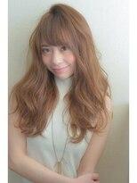 トムヘアーデザイン 古川橋店(TOM HAIR DESIGN)顔周りを包みこむ毛流れとウェーブで空気感たっぷり愛されヘア♪