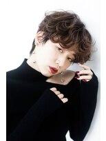 エルサロン 大阪店(ELLE salon)くせ毛風カールで色っぽく♪井上真由美