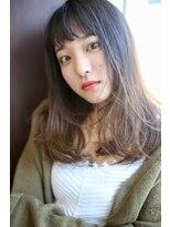 リコ ヘアアンドリラクゼーション(LICO HAIR&RELAXATION)顔まわりのぷちレイヤーで小顔効果
