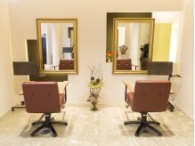 レガーレ ヘア デザイン(Regare Hair Design)の雰囲気(細かい所までこだわった施術スペース。)