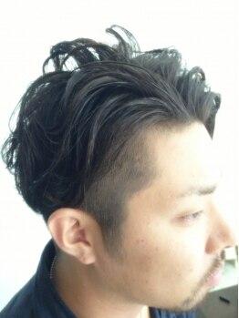 トモズヘアデザイン(Tomo's Hair Design)の写真/男性目線の提案力でメンズからの支持が熱いTomo's☆個性×トレンドを組み合わせON/OFFキマるスタイルに!
