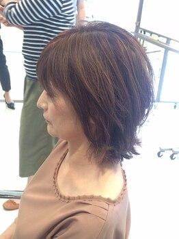 ランタナ(Lantana)の写真/《大人女性のお悩み解決!》美しいツヤ髪も明るめのカラースタイルも安心安全に楽しめる!