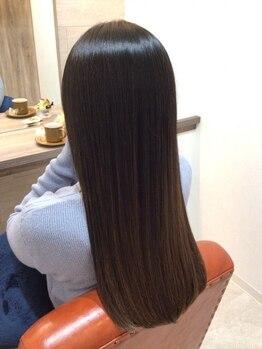 エン 大泉学園(en.)の写真/綺麗に髪を伸ばしたい方en.大泉学園にお任せください!技術・空間・薬剤、全てにこだわった本格派サロン◎