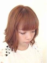 ヘア デザイン スタイリー(Hair Design stylee)オレンジベージュ&AIR WAVE