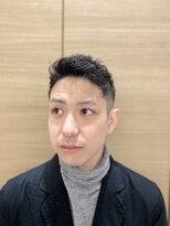 銀座マツナガ日本橋店トップのボリュームダウン改善!アイロンパーマ!
