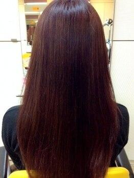 ラ カスタ 髪飛行切(La CASTA)の写真/大人女性に人気のLa CASTA専門店☆ふっくらハリのある髪質に!エレガントさUPでカラーが美しく映える♪
