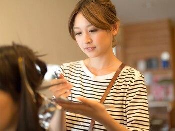 オーガニック 湘南藤沢オーパ店(Organic)の写真/女性スタッフ多数で髪の悩みも相談しやすい。女性ならではの細やかな心配りが嬉しい♪