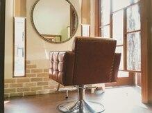 ヘアプレイス コラソン(hair place CORAZON)の雰囲気(半個室の店内で落ち着いたサロンタイムを♪)