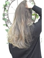 ヘアーサロン エール 原宿(hair salon ailes)(ailes原宿)style300 デザインカラー☆ホワイトグラデーション