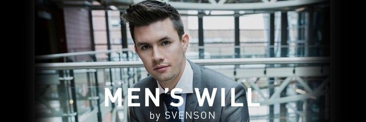 メンズ ウィル バイ スヴェンソン 大阪スタジオ(MEN'S WILL by SVENSON)のサロンヘッダー