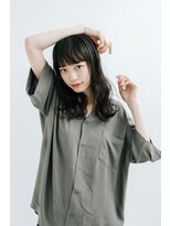 コットン(cotton)【cotton 木戸浦】黒髪ウェーブ