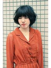 ララ(rara)☆みゆき☆ ダークトーンのパーマボブ