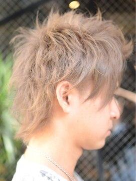 【covo/小鴨俊彦】3代目系アップバングネオウルフ