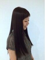 ロイ ヘアルーム 草加店(Roy hairroom)ストレートヘア