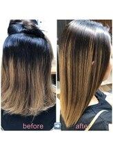 ブローテ ヘアアンドメイク(brote hair&make)高難易度縮毛矯正 101 (ブリーチ毛)