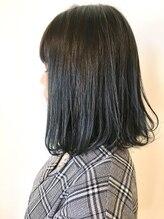 フレイムスヘアデザイン(FRAMES hair design)ミルフィーユボブ×ブルーグレージュ