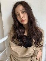 ヘアーアンドメイク シーク 八王子(HAIR&MAKE SeeK)巻き髪ロングレイヤー