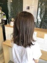 アミィヘアー(Ami Hair)暗髪×ミディアムロブ×透明感イルミナカラー