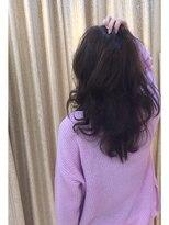 モード ケイズ 塚本店(MODE K's)throwカラー 巻き髪スタイル