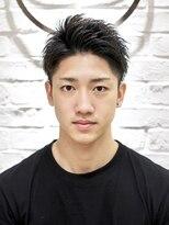 【ヨシザワ聖路加】黒髪アップバングショート