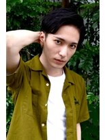 classical×traditional side part#003