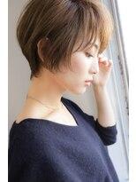 ヘアーアンドリラックス スウィート(Hair&Relax SWEET)耳かけくびれショートくすみカラー艶カラー30代40代50代【N1】
