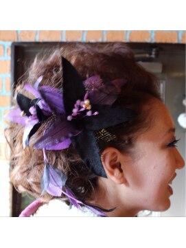 ヘアードレッサーズ アトリエ アンジー(Hair Dresser's Atrie Angie)成人式アップ2014