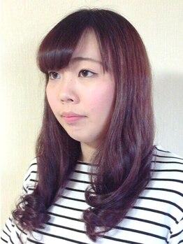 ヘアーサロン 麻衣(Hair Salon)の写真/【あなたの大切な髪に…】透明感のある柔らかな艶感たっぷりカラー♪ダメージレスなのも嬉しいポイント◎