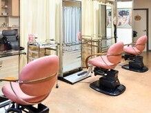 美容室 アイワ(Aiwa)の雰囲気(セット席は3つのみ★自分だけのサロン時間♪)
