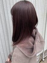 ネオヘアー 東向島店(NEO Hair)ピンク×パープルカラー