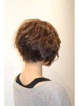 ヘアーデザインガーデニア(hair design Gardenia)大人女性の前下がりショート☆【赤羽 赤羽岩淵 ガーデニア】