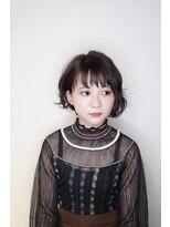 ヘアークリニック ラクシア 石巻(Hair Clinic LAXIA Ishinomaki)ミニボブアレンジ