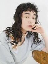 アース 小田原店(HAIR&MAKE EARTH)ショートバングのふんわりロング