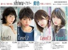 業界初shiwuオリジナル【レベルカラー】丁寧なカウンセリングで最先端のカラーと仕上がりを体験ください☆