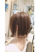 リリー ヘアーデザイン(Lilly hair design)【勝田台Lilly昼間】切りっぱなしボブ☆
