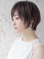 ロンド 表参道店(Lond)美人ショート☆骨格矯正カット