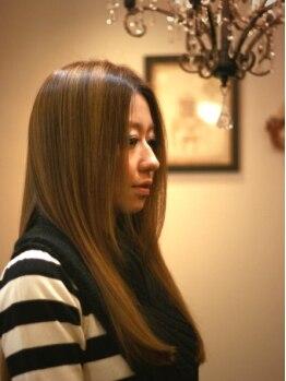 ビースト フォー ヘア(BEAST for hair)の写真/もうクセで悩まない☆髪に艶を与えるネオリシオ使用◎生まれつきのストレートのような自然な仕上がりに*