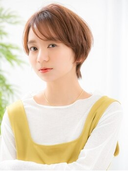 リトル トクシマ(little tokushima)の写真/【カット+カラー¥5500】ブリーチなしでもうる艶透明感★「リトルプライスでも可愛くなれる」を実感しよう♪