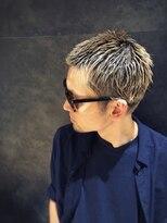 【LIPPS RayGINZA 】#銀座#メンズヘア#刈り上げ#ブリーチカラー
